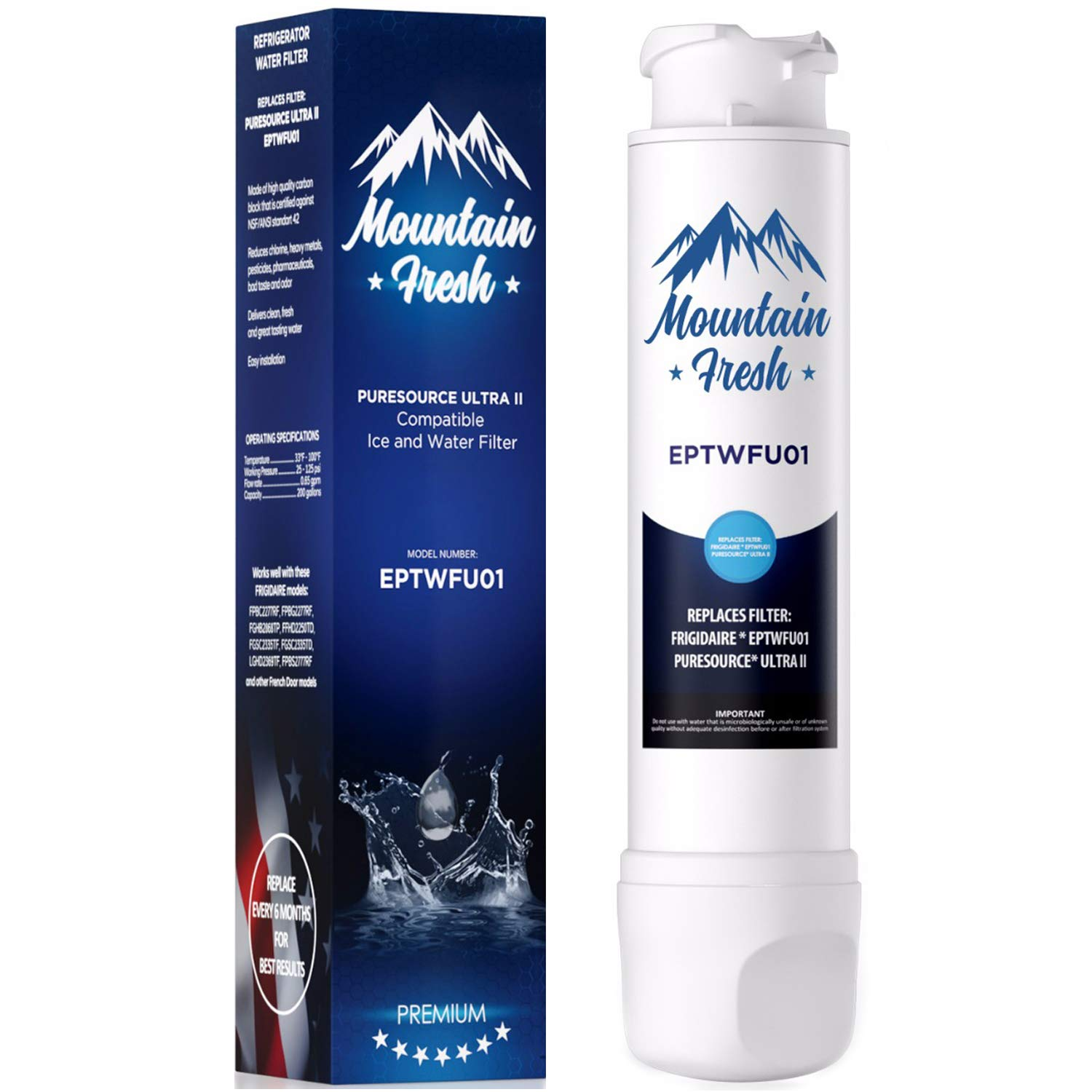 MFF Premium Water Filter for French Door Models
