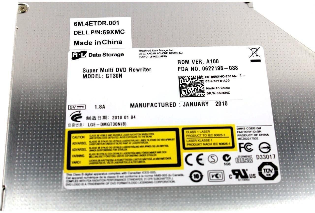 Dell Vostro 3700 Red SATA Internal Laptop Drive 69XMC 069XMC CN-069XMC