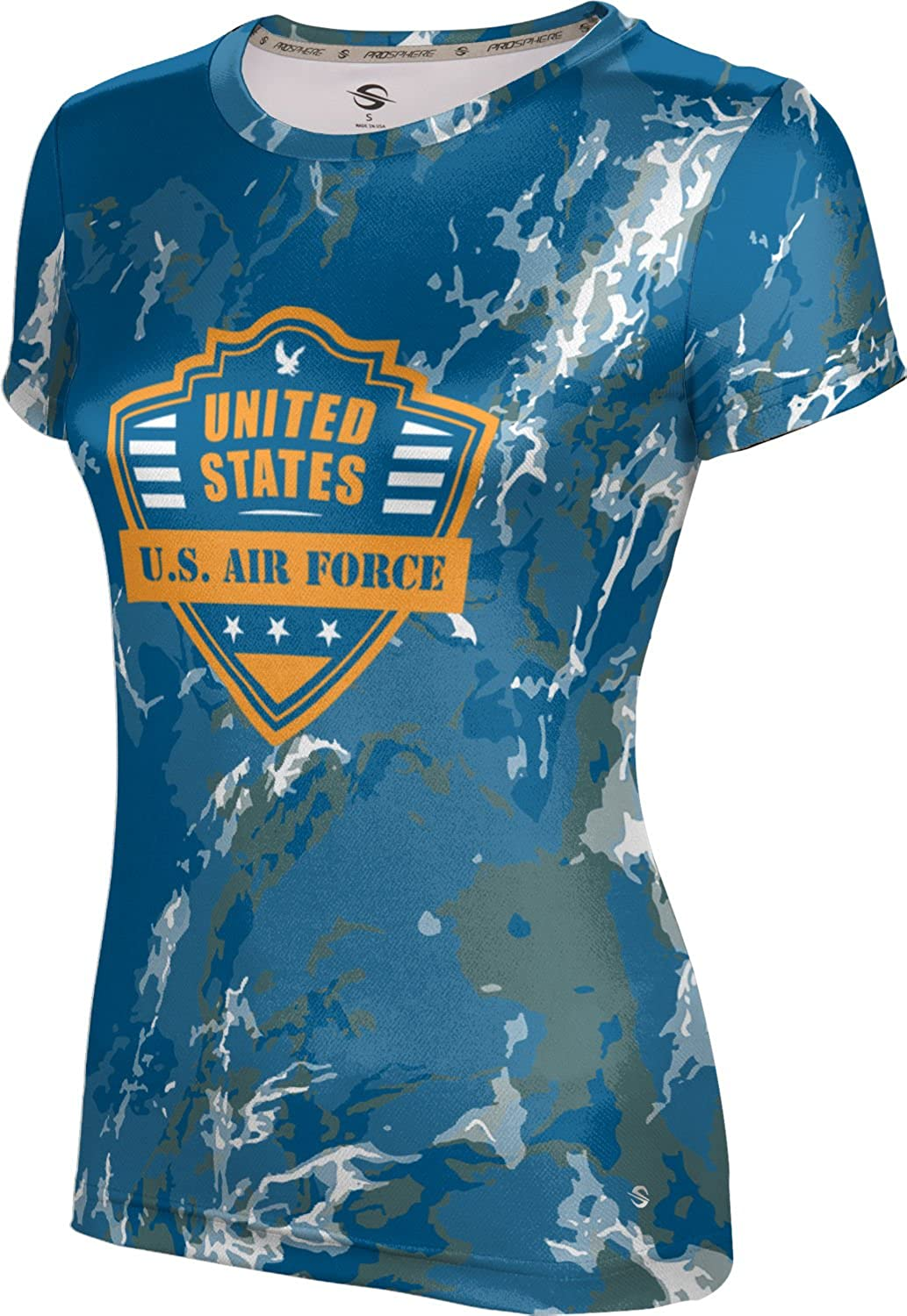 ProSphere Women's U.S. Air Force Military Marble Tech Tee