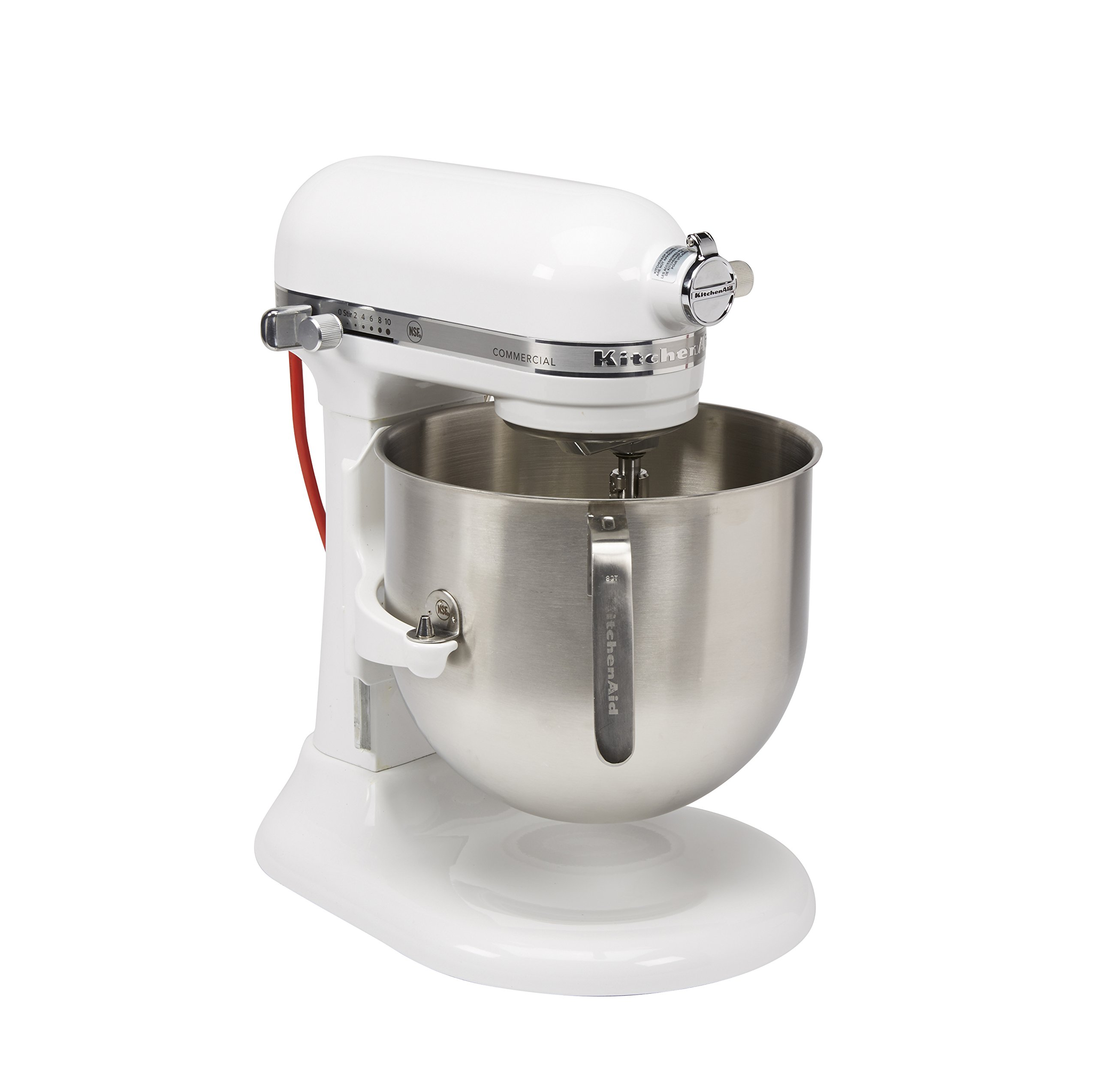 KitchenAid (KSM8990WH) 8-Quart Stand Mixer with Bowl Lift (White)
