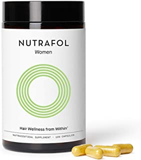 product image for Nutrafol Women Hair Growth Supplement For Thicker, Stronger Hair (4 Capsules Per Day - 1 Month Supply)