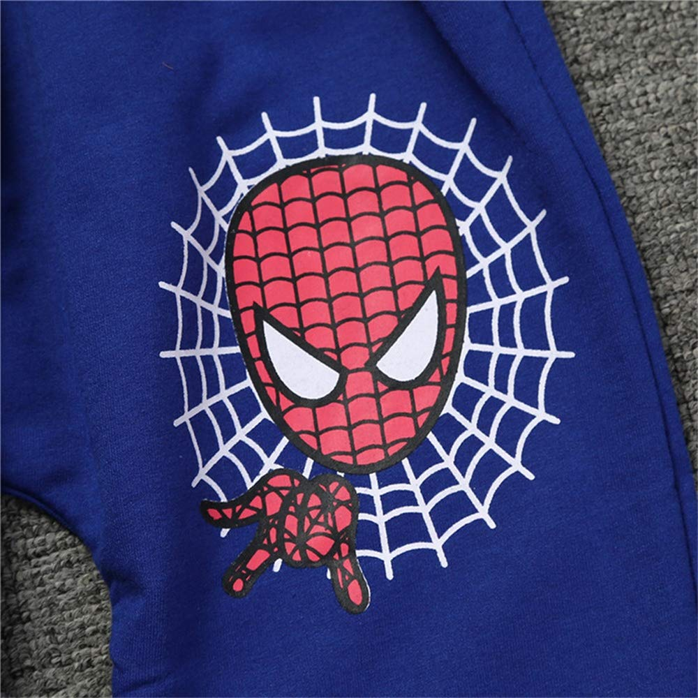 Rizoo Boys 2 Pieces Clothing Set Spiderman Hoodie with Pant Sweatshirt for Boys