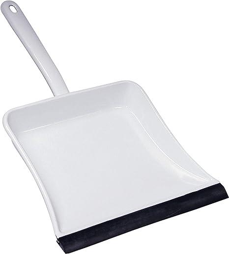 RIESS recogedor con polvo de goma, recogedor, blanco: Amazon.es: Hogar