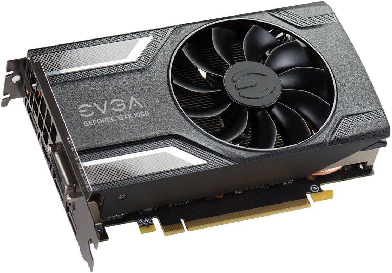 EVGA GeForce GTX 1060 SC GAMING, ACX 2.0 (ventilador individual ...