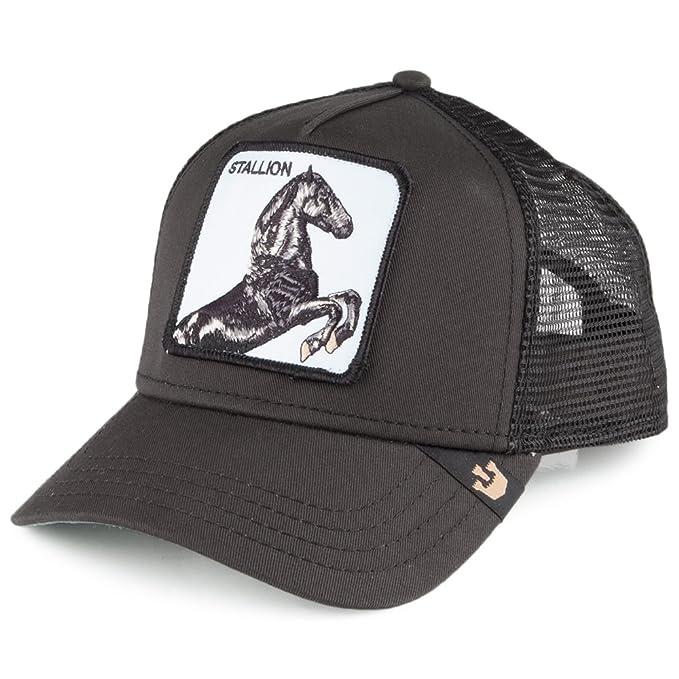 Gorra Trucker Stallion de Goorin Bros. - Negro - Ajustable