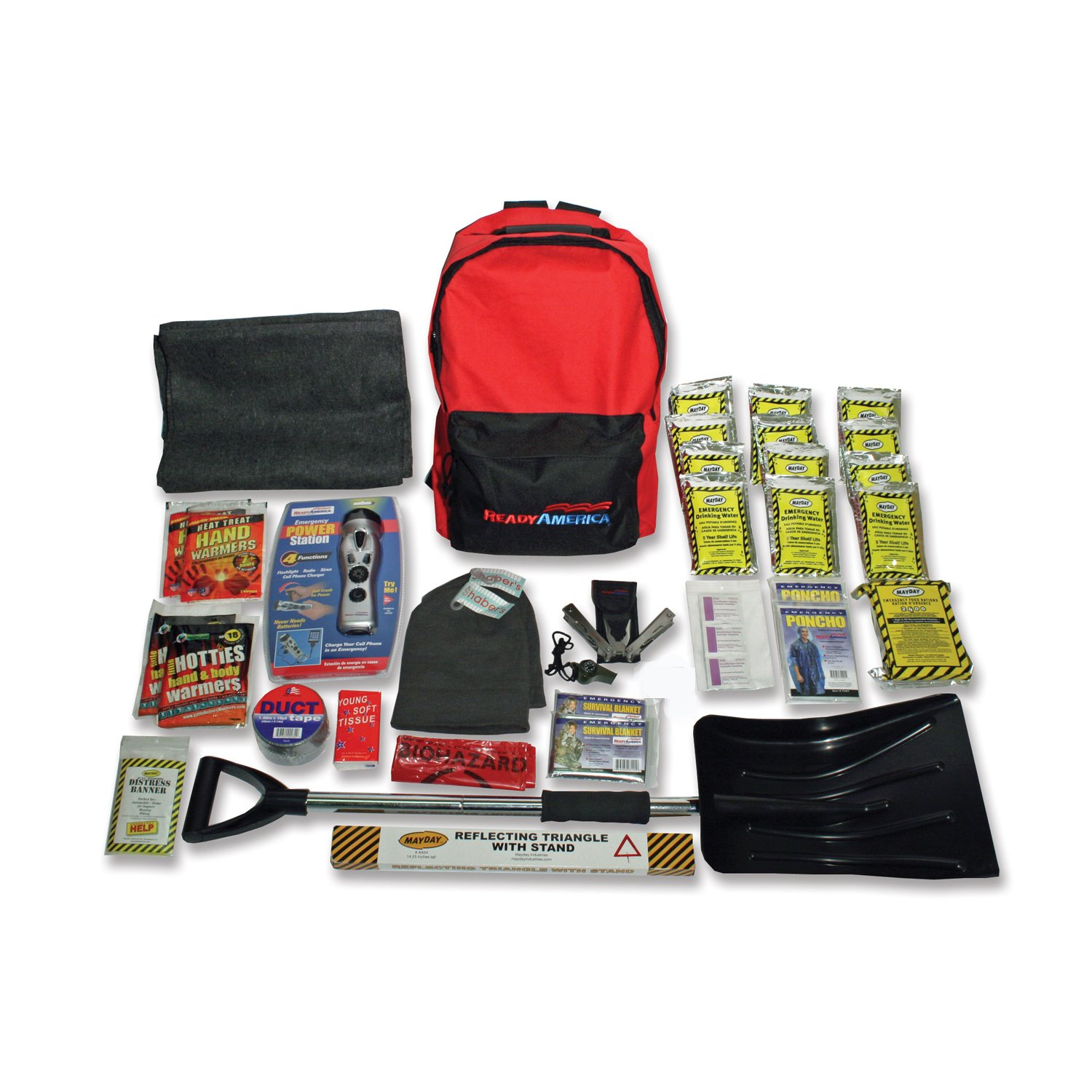 Ready America 70410 Cold Weather Survival Kit for Two Person