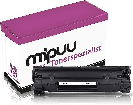 Mipuu Cartucho de tóner compatible con HP CE285A / 85A Black Negro ...