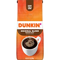 Dunkin Donuts Original Blend Medium Roast Ground Coffee 12oz