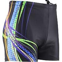 MinYong Men's Square Leg Swimsuit Athletic Swimwear Briefs Swim Jammer