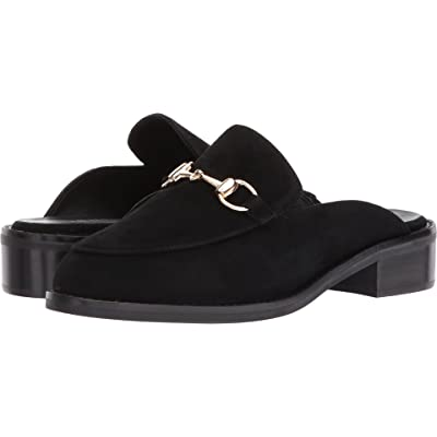 VANELi Akela Black Suede/Gold Trim 5.5 | Shoes