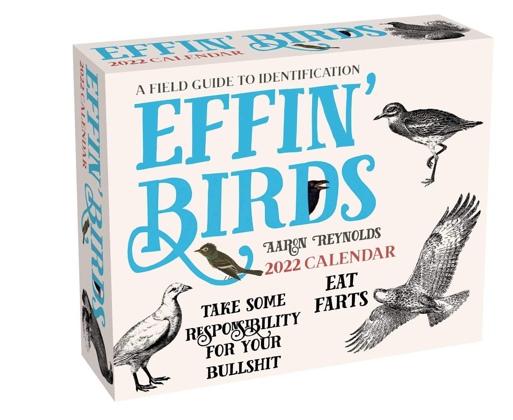 Image for Effin' Birds 2022 Day-to-Day Calendar