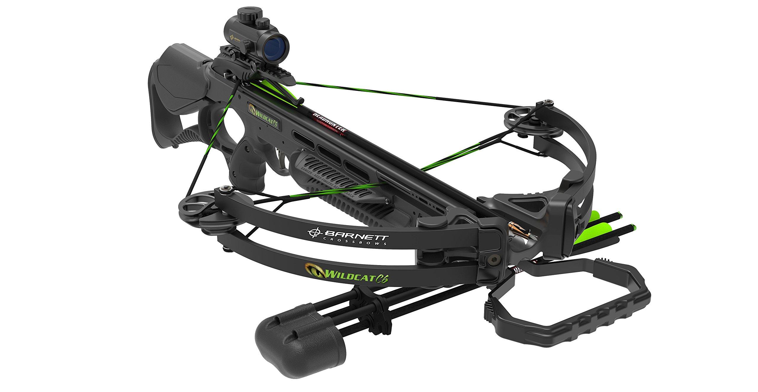 Barnett Wildcat C6 Crossbow Package, Black