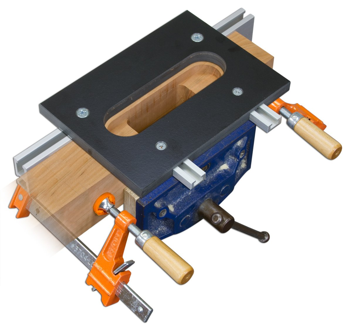 Woodhaven 8668 for SOSS 218 Hinge - Router Templates - Amazon.com