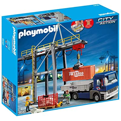 PLAYMOBIL - Loading Crane Truck - 2020 Release: Toys & Games