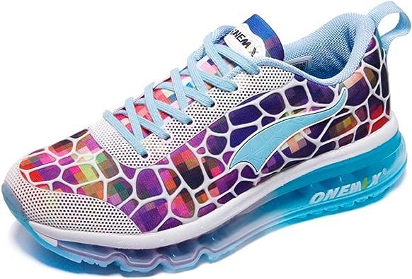 ONEMIX Zapatillas de Trail Running para Mujer, Deportivas Correr Gimnasio Casual Zapatos Gimnasia Sneakers: Amazon.es: Zapatos y complementos