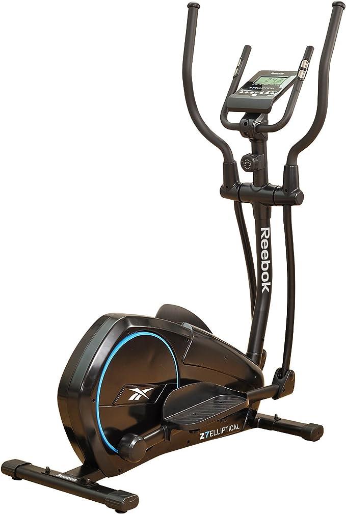 Reebok Fitness x - Elíptica de Fitness (acción Dual, programable, Manual, Ritmo cardiaco), Color Negro, Talla 123 x 42 x 85 cm: Amazon.es: Deportes y aire libre