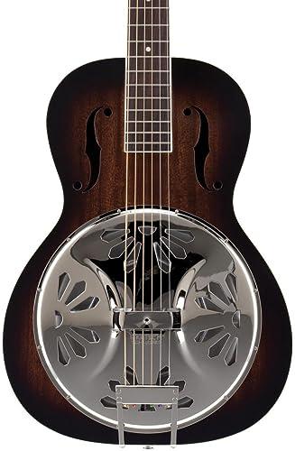 Gretsch G9220 Bobtail Round-Neck Acoustic-Electric Resonator Guitar - 2 Color Sunburst