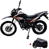 X-Pro 2020 Version Hawk 250 Dirt Bike Motorcycle Bike Dirt Bike Enduro Street Bike Motorcycle Bike with Motorcycle Cover…