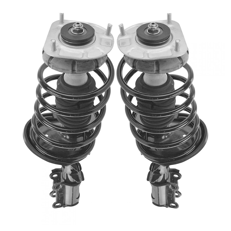 Front Complete Shock Strut Spring Assembly Driver Passenger Pair for S60 V70 S80