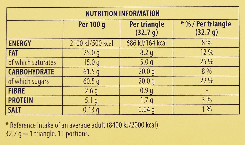 Toblerone gran barra de frutas y nueces Chocolate, 360g: Amazon.es: Alimentación y bebidas