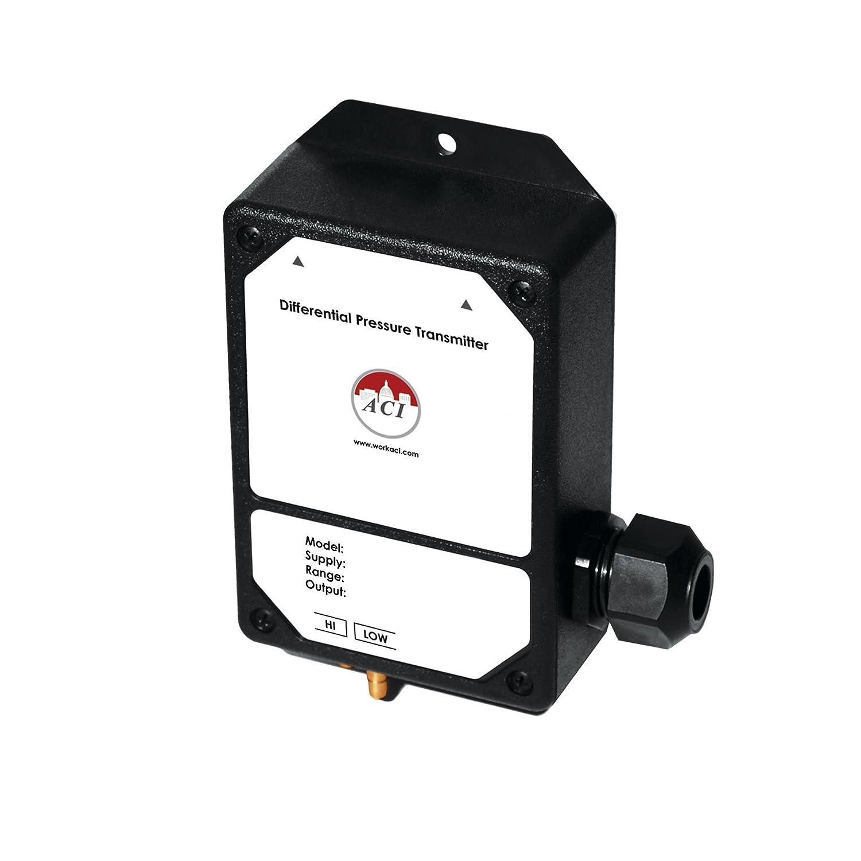 Differential Pressure Sensor Transducer Unidirectional A//LP2-5-5   0-5 VDC   0-5 w.c ACI