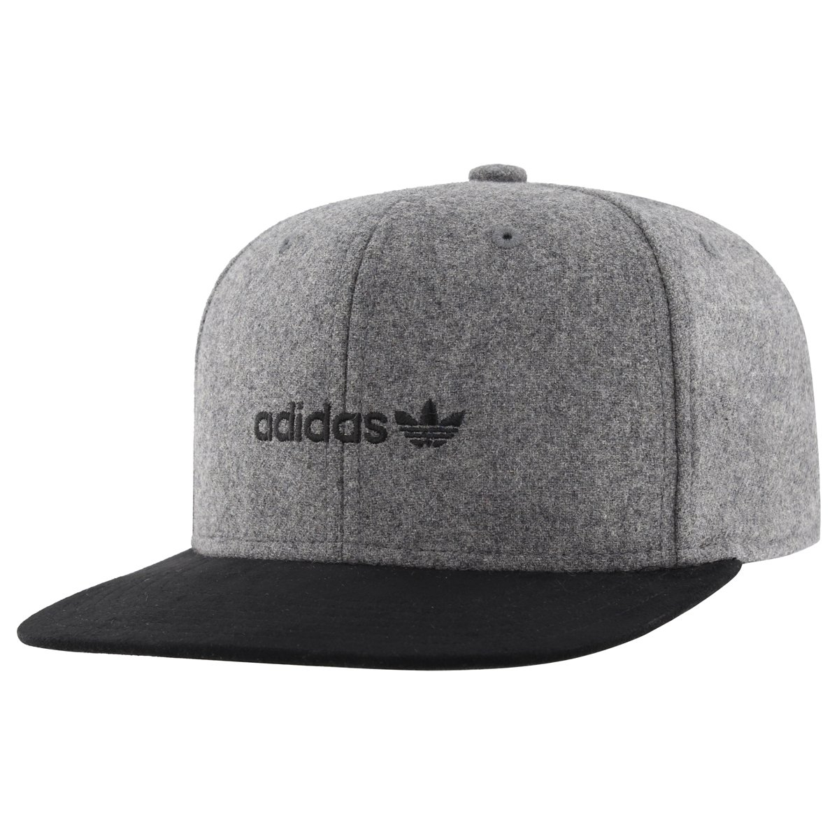 24388ffe6c3 Galleon - Adidas Men s Originals Snapback Flatbrim Cap