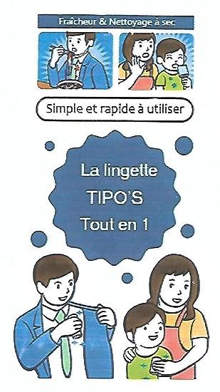 Lot De 10 Lingettes Tout En 1 Fraicheur Et Nettoyage à Sec; Séchage Rapide
