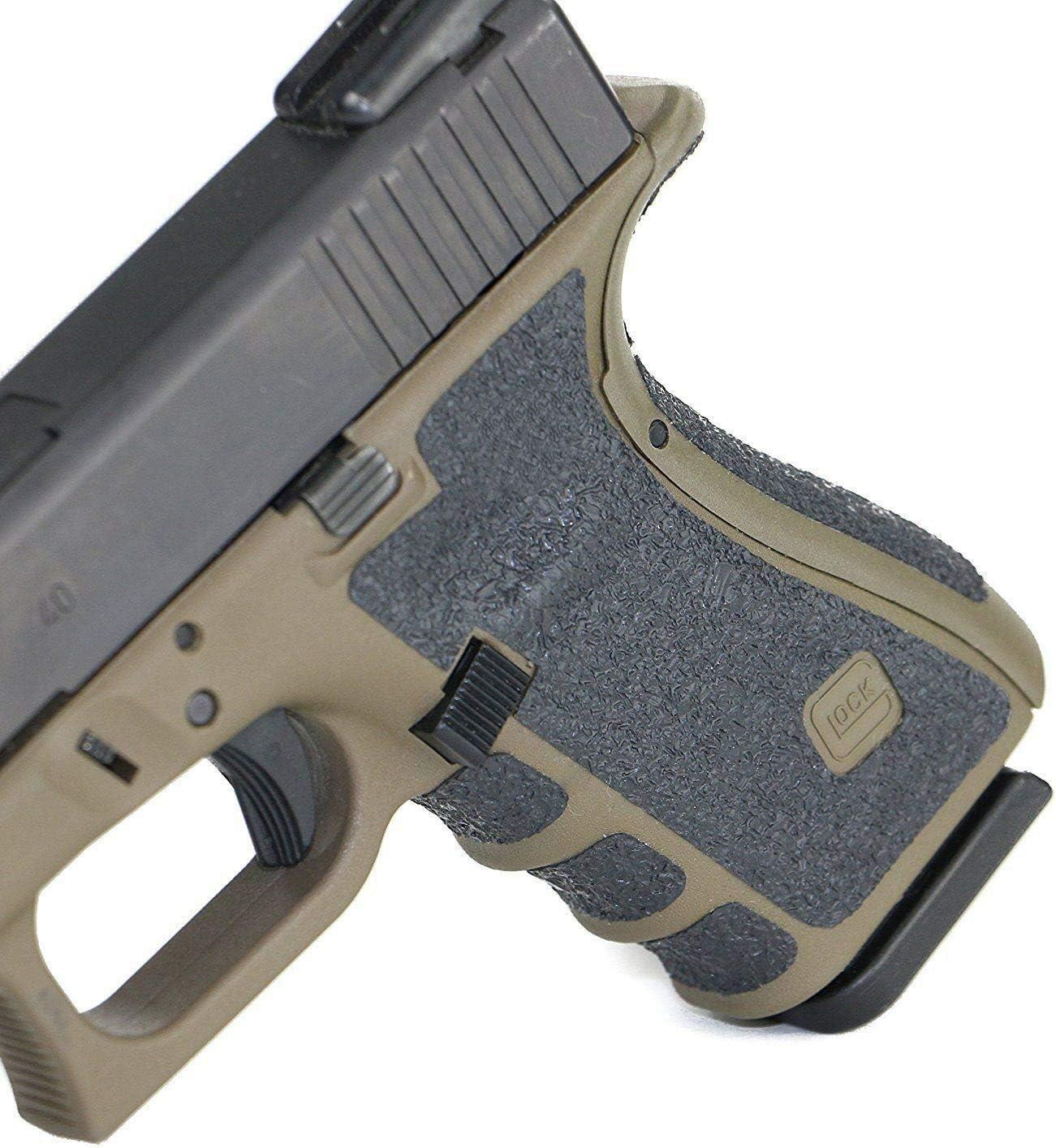 XFC-poign/ées Couleur : for Glock 19 23 25 Tactique en Caoutchouc Grip antid/érapant for Glock 17//19//20//21//23//25//26//27//32//33//38 Holster