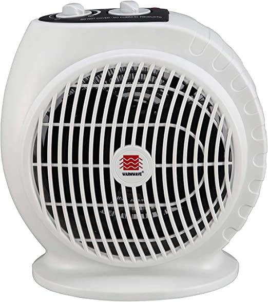 Amazon Com Warmwave Hfq15a Electric Fan Heater With Adjustable