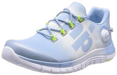 d51b4cc42959 Reebok Zpump Fusion Womens Running Sneakers-Blue-6