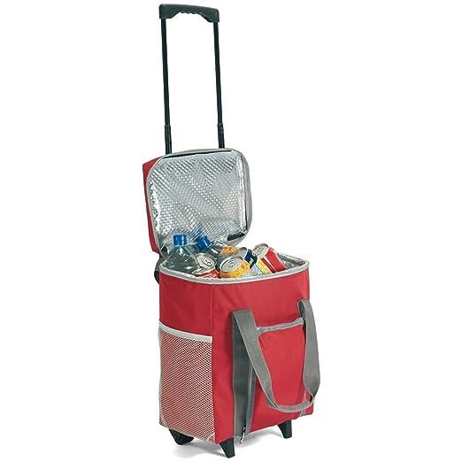 Bolsa Nevera con Ruedas Trolley enfría 15 litros 30 x 36 x 19 cm ...