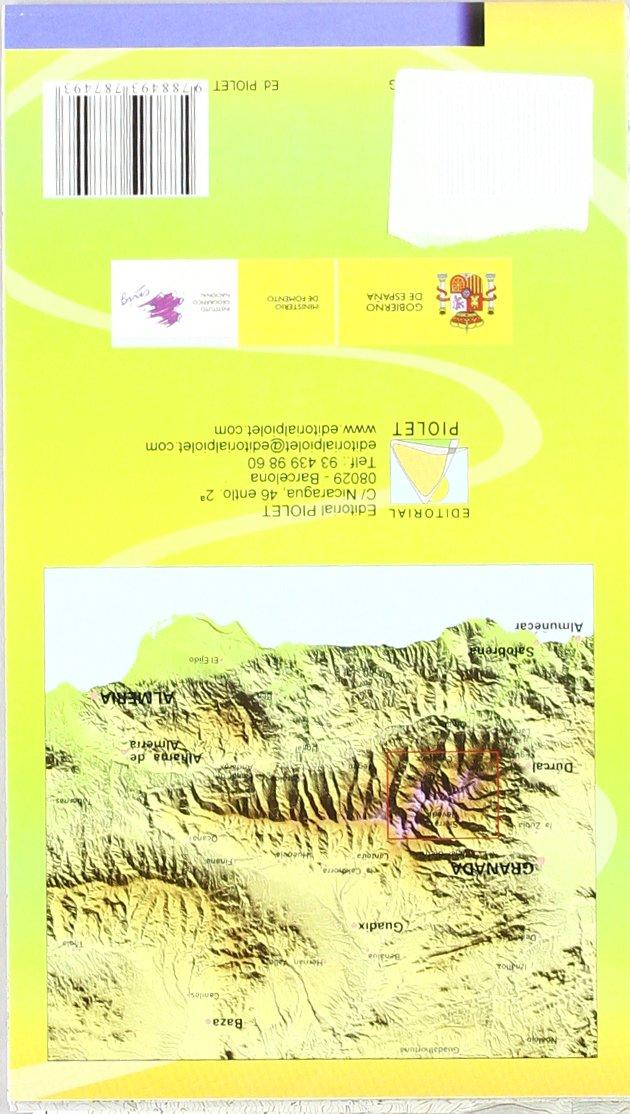 Sierra Nevada, la integral de los 3.000. Escala 1:25.000 ...