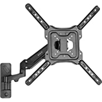 VIVO Premium Aluminum Single Tv Wall Mount for 23 to 55 Inch Screens, Adjustable Arm, Fits Up to Vesa 400X400 (Mount…