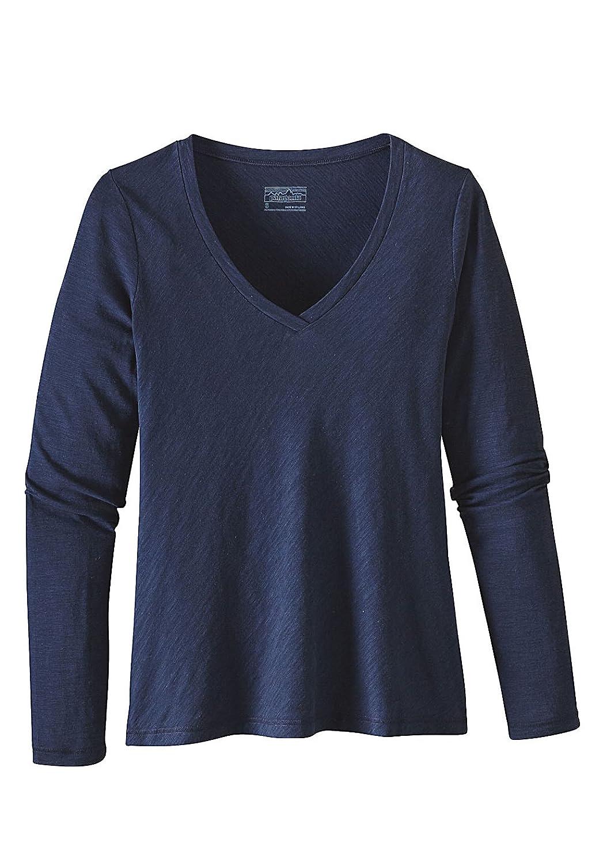 Damen Longsleeve Patagonia Necessity V-Neck T-Shirt LS
