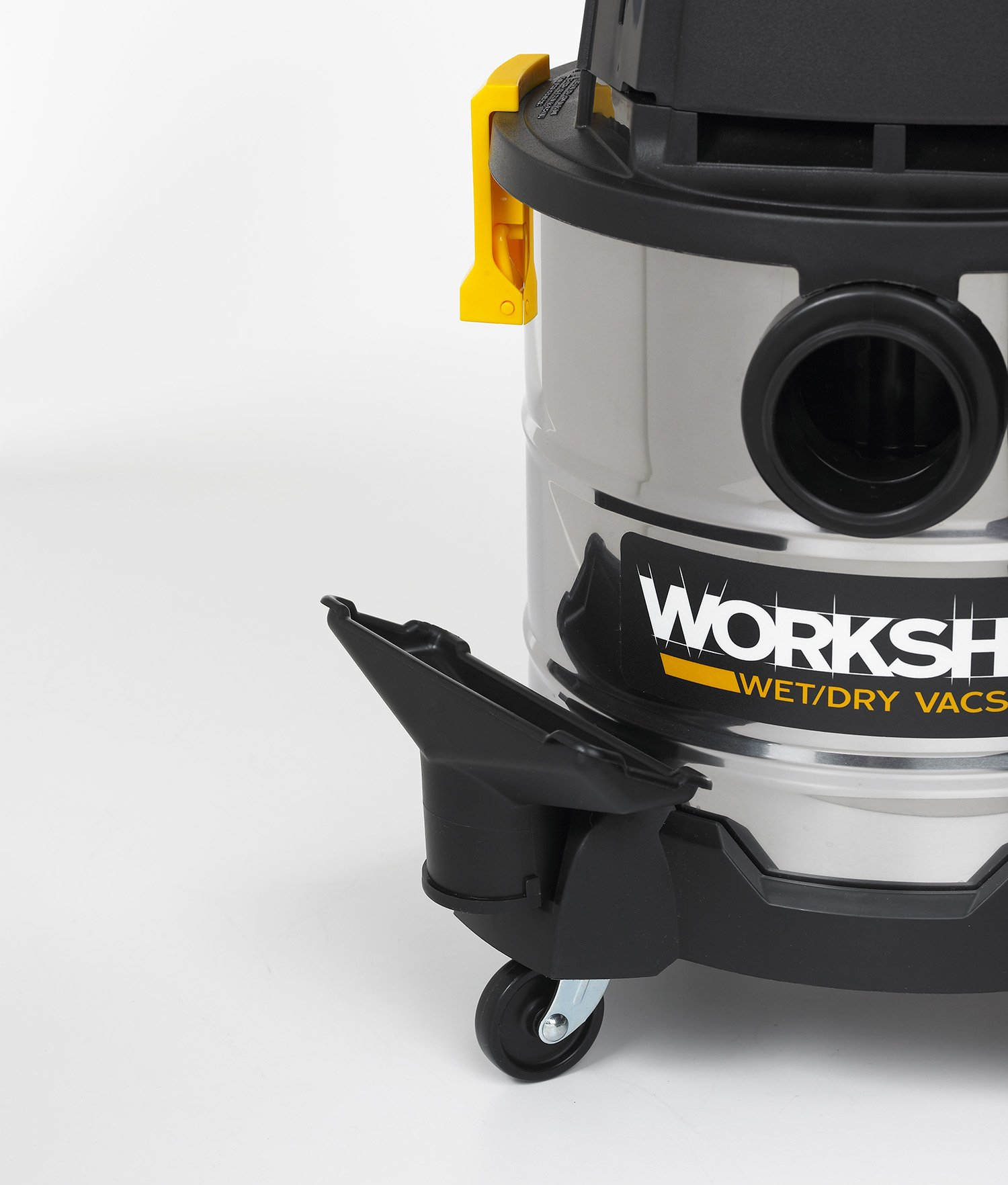 WORKSHOP Stainless Wet Dry Vac WS0400SS Stainless Steel Wet Dry Vacuum Cleaner, 4-Gallon Stainless Steel Portable Shop Vacuum Cleaner, 2.5 Peak HP Portable Wet Vac by WORKSHOP Wet/Dry Vacs (Image #7)