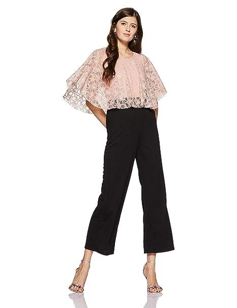 40dccabe2a4e Annabelle By Pantaloons Women s Jumpsuit (110040326005 Peach X-Large ...