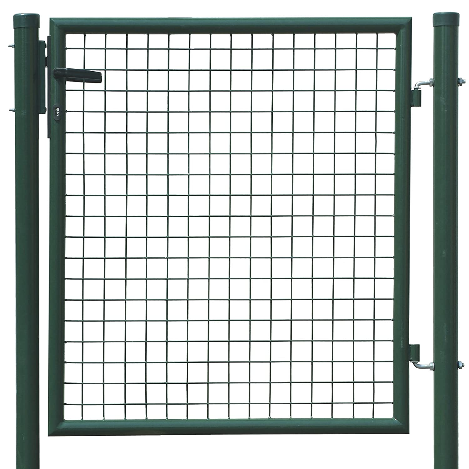 Grande cancelli per giardino in ferro fr49 pineglen for Cancelli bricoman