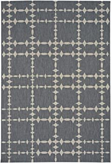 """product image for Elsinore-Tower Court Coal 7' 10"""" x 11' Rectangle Machine Woven Rug"""