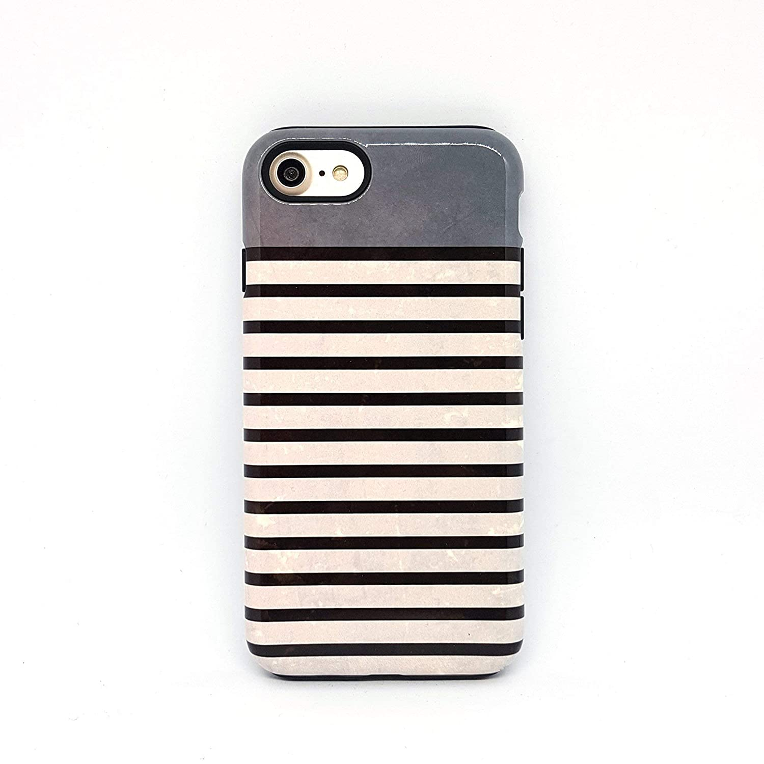 Stripe Stripes Striped cover case TPU Tough for iPhone 5, 5s, 6, 6s, 7, 7 plus, 8, 8 plus, X, XS, for Galaxy S6, S7, S8