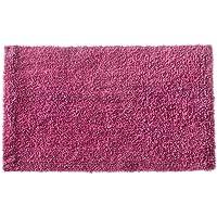 Tapete de Banheiro Victoria Retangular Corttex Rosa 60.00cmx40.00cm Tecido