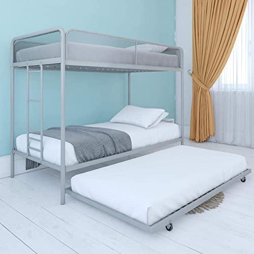 DHP Triple Metal Bunk Bed Frame