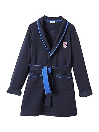 1679044e8964d Cyrillus Robe de Chambre garçon 16A Marine: Amazon.fr: Vêtements et ...