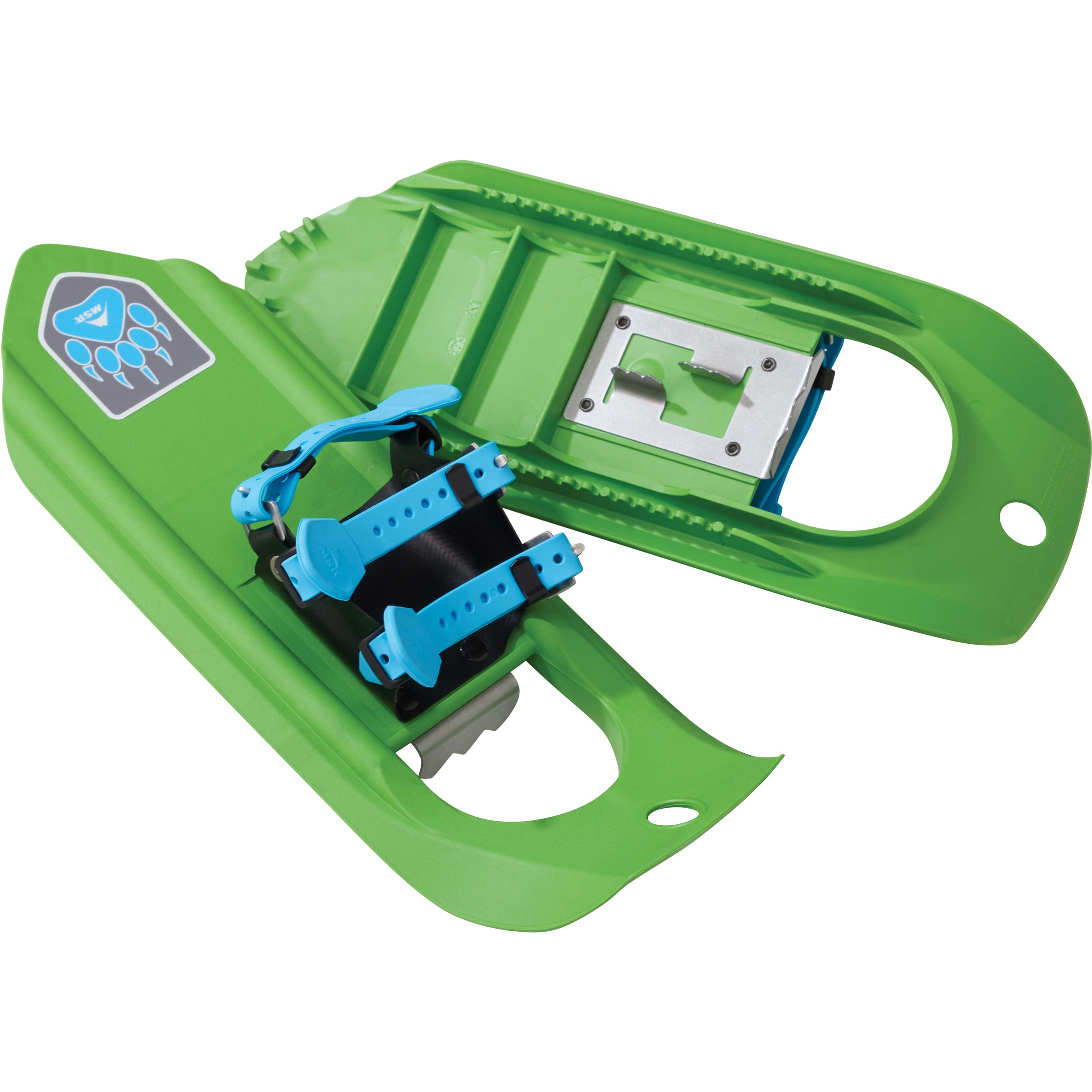 MSR Tyker Kids' Snowshoes for Children (Pair), Dino Green by MSR
