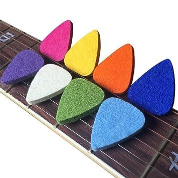 TEN felt plectrums picks for ukulele UK seller