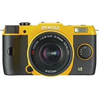 Pentax Q7 12MP 1/1.7-inch CMOS Mirrorless Camera with 5-15mm Zoom Lens (Yellow)