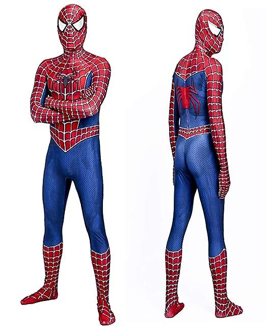 Amazon.com: Traje clásico Tobey Spiderman Zentai para ...