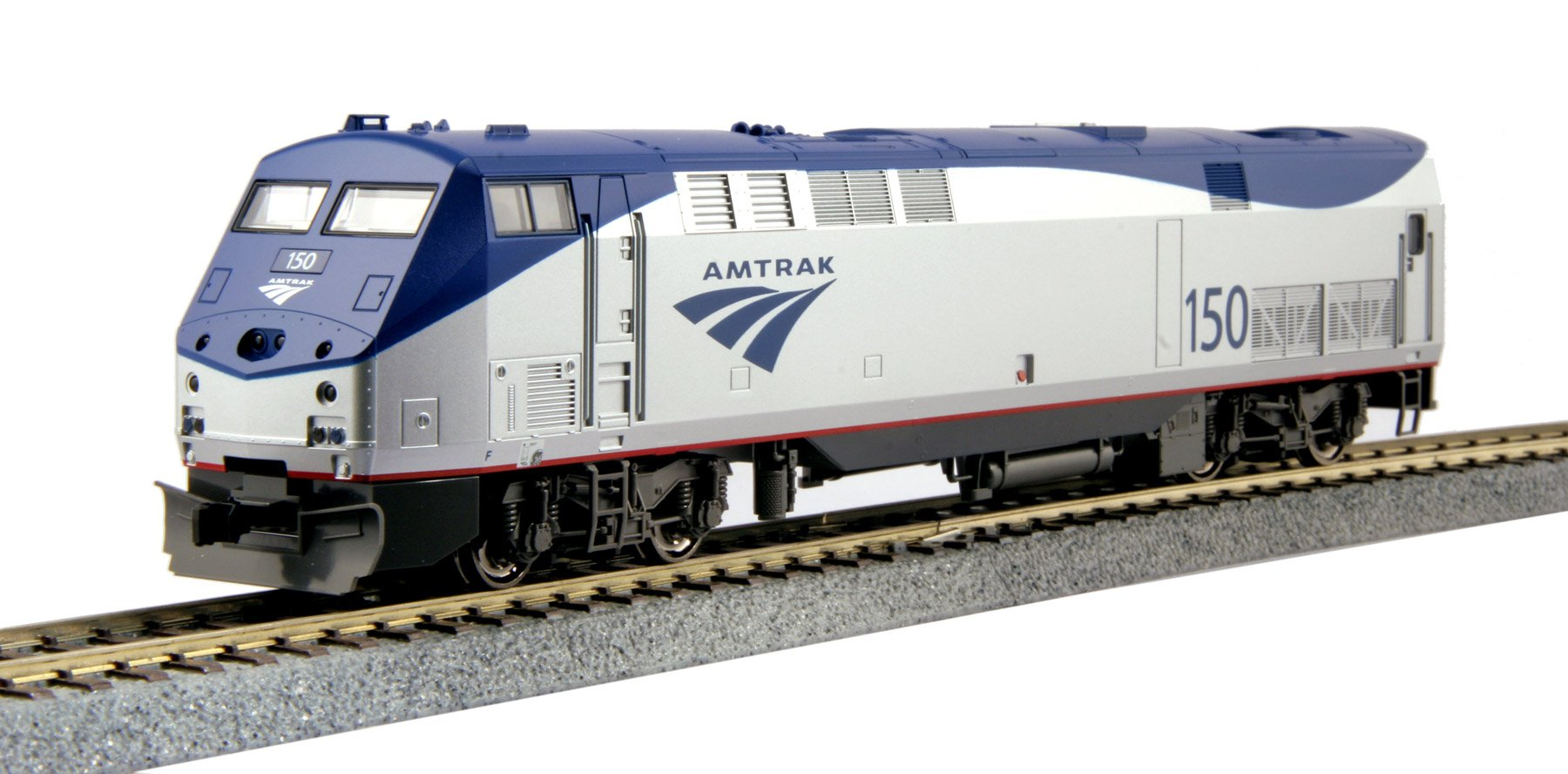 Kato USA Model Train Products HO GE P42 #150 ''Genesis Amtrak Phase VB Locomotive