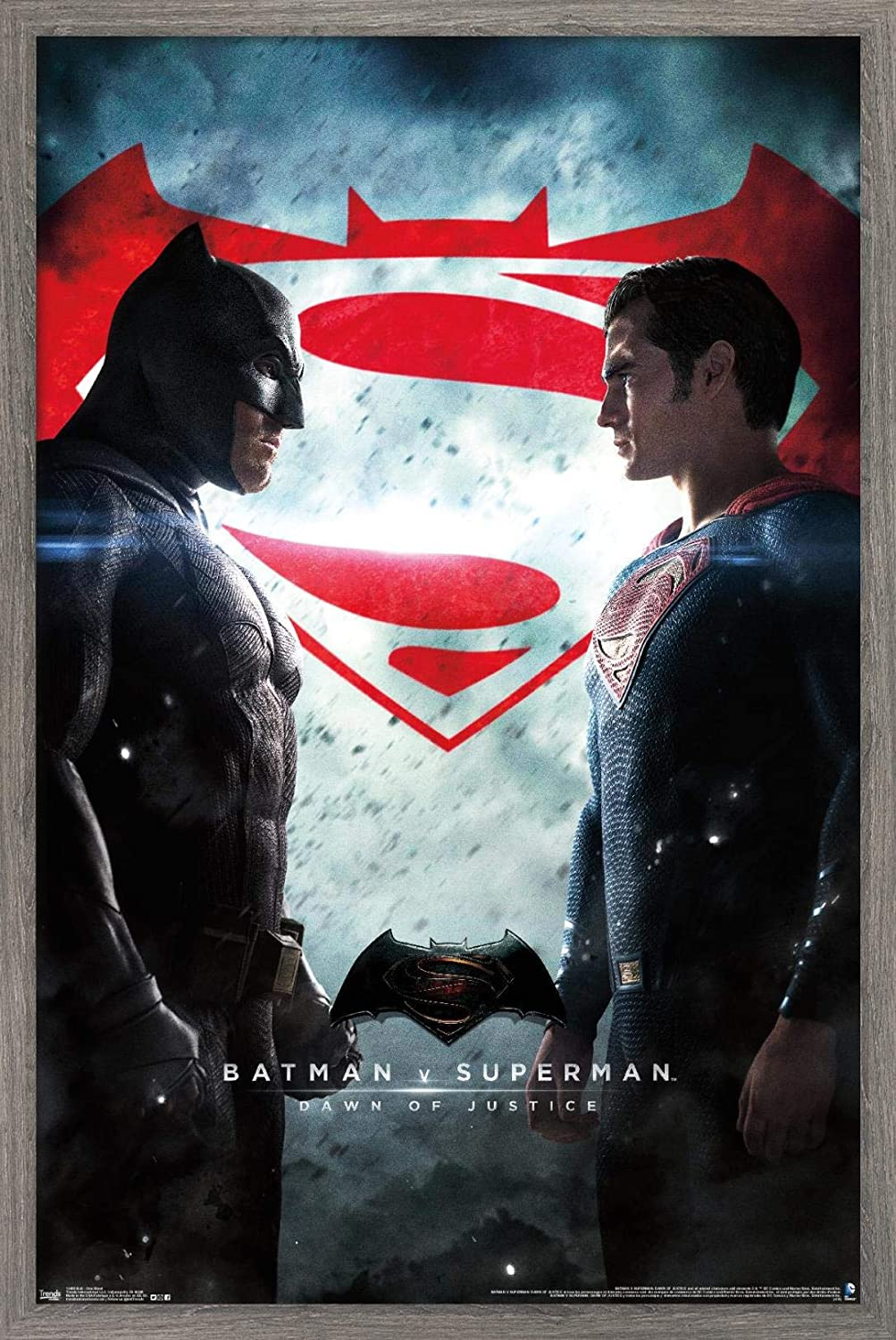 Trends International DC Comics Movie - Batman v Superman - One Sheet Wall Poster, 14.725