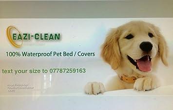 Camas para perros Pet fundas Hecho a la medida para adaptarse a cualquier tamaño de espuma de memoria: Amazon.es: Productos para mascotas