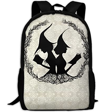 3f44b1af4524 Amazon.com: Good Witches Are Reading Unique Outdoor Shoulders Bag ...